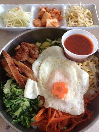 Restaurant Osaka:                                     Bi bim bap