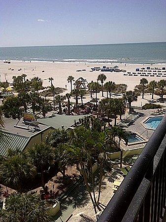 Sirata Beach Resort:                   beach/pool area