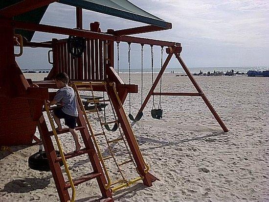 Sirata Beach Resort:                   playground