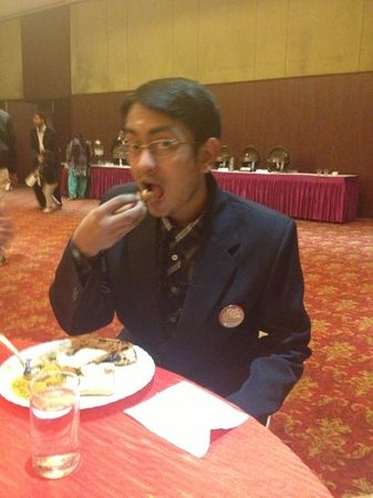 Hotel Jaipur Greens:                   the worst conference room breakfast