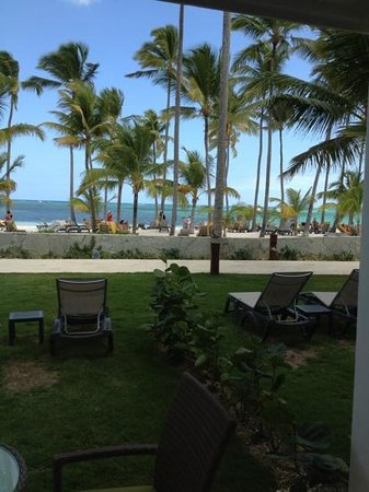 Barcelo Bavaro Beach - Adults Only:                                     view from our room