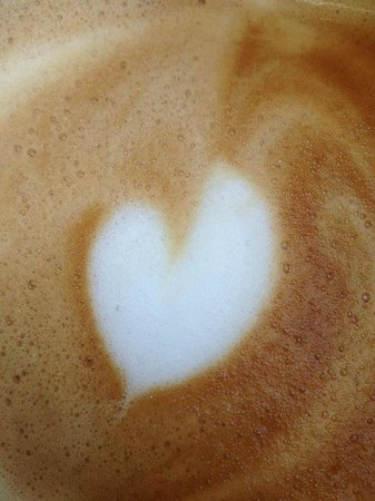 The Rookery Cafe: Cappuccino