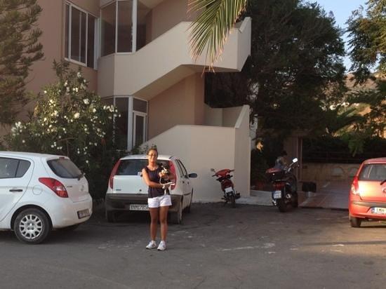 Hotel Hermes:                   entrata hotel