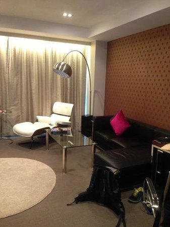 Rydges Auckland:                   chill out time