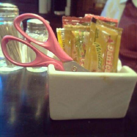 Cafe Bar Banana :                   Benditas tijeras!!!