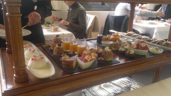 Restaurant Vieux Bois:                   sobremesas