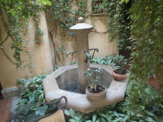 هوتل كامينو ريال أنتيجوا:                   One of many fountains                 