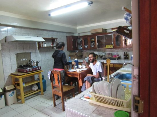 Chachapoyas Backpackers Hostal:                                                       Great kitchen!