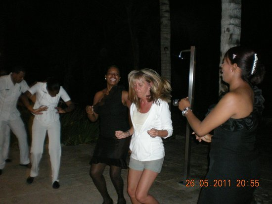 Catalonia Royal Bavaro:                   Beach Party Fun.