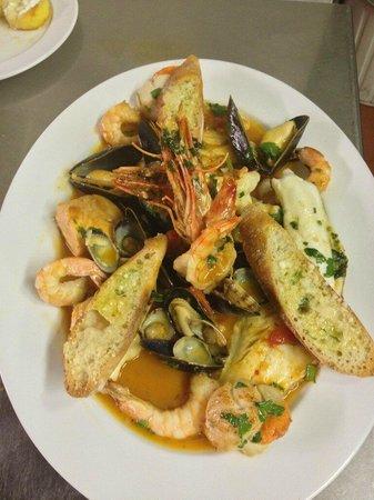Soro Restaurant A Taste Of Italy Stratford Upon Avon Seafood