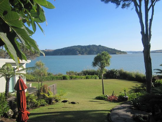 Waters Edge Holiday Accommodation:                   View from the cottage