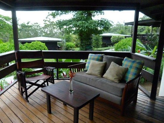 Chachagua Rainforest Hotel & Hacienda: Every cabina has a porch