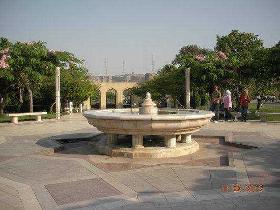 Al-Azhar Park:                   Inside the park