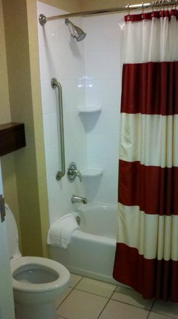 Residence Inn Florence: Bath tub area