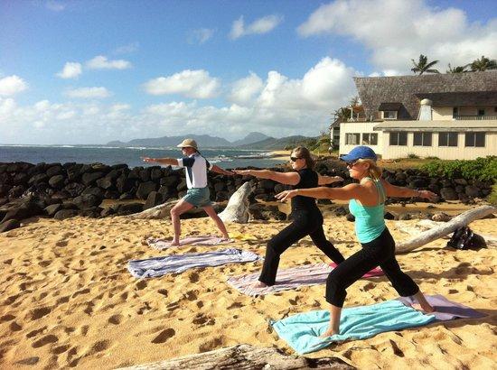 Kauai Yoga On The Beach Nothing Like It