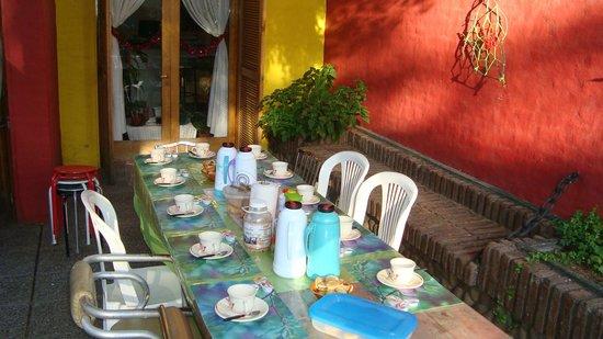 Punto Patagonico Hostel:                   Servicio de desayuno