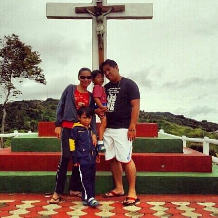 Seagull Mountain Resort:                                                       at the big cross..