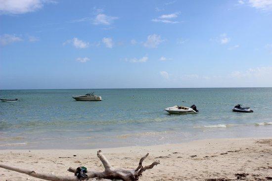 Sol Caribe San Andres:                   Playa del club de campo del hotel