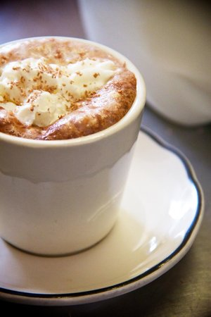 Thee Abbey Kitchen: Our delicious homemade hot chocolate 573-546-4249