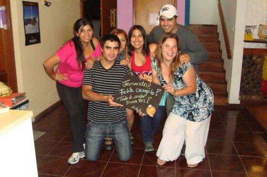 Punto Patagonico Hostel:                   Personal del Hostel
