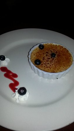 Table Mesa Bistro :                   Creme brulee