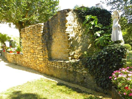 Le Moulin De Mitou : Outdoor area behind the property.