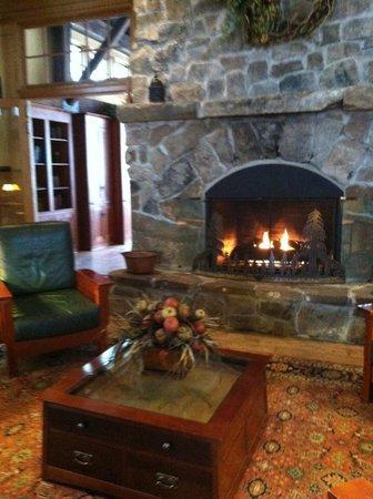Main Lobby at Allegheny Springs