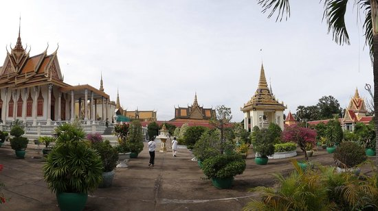 Exotic Voyages:                   Silver Pagoda, Phnom Penh