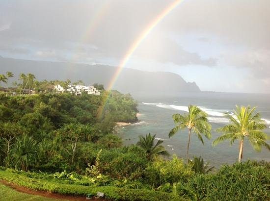 Marc at Princeville Pali Ke Kua:                   pot of golf at the end of this rainbow