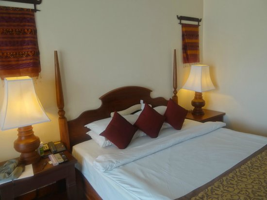 Exotic Voyages:                   Room, Prince d'Angkor, Siem Reap