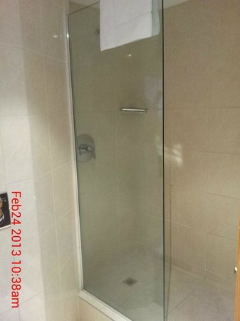 Copthorne Hotel Palmerston North:                   Shower room 214