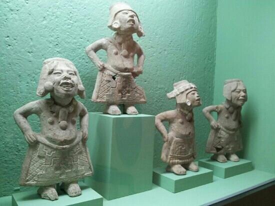 Rufino Tamayo Museo de Arte Prehispanico de Mexico:                   laughing women