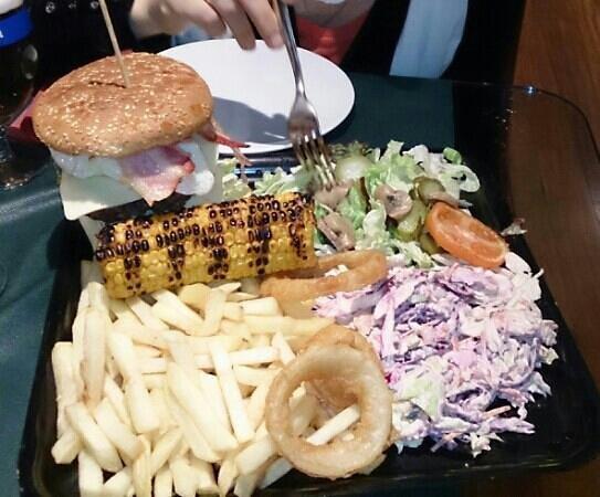 Resultado de imagen para hamburguesa gigante