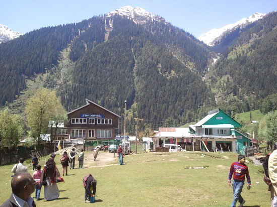 Pahalgam, India:                                     chandanwari village
