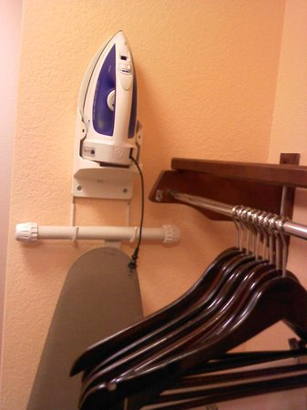 Fairfield Inn & Suites Dallas Las Colinas: you can iron while NOT sleeping