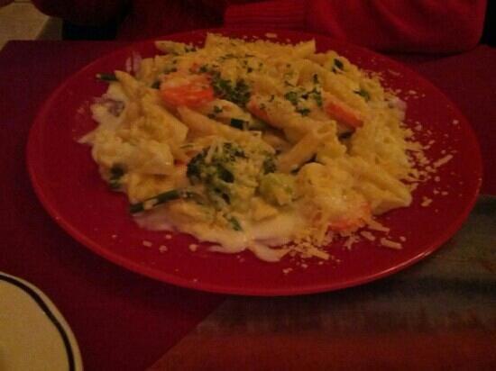 Zias Stonehouse Restaurant: vegi pasta premavera
