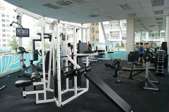 YYK 1Borneo Condominium: Gym and sauna
