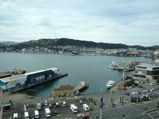 Rydges Wellington:                   view from room 1302