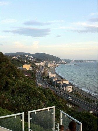 Hayama Hotel Otowa No Mori :                   view
