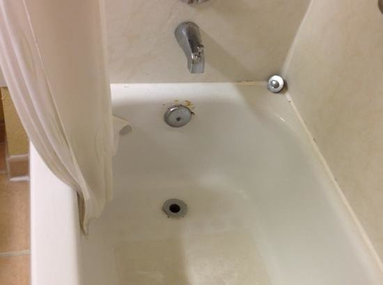 Comfort Suites:                   bathroom tub