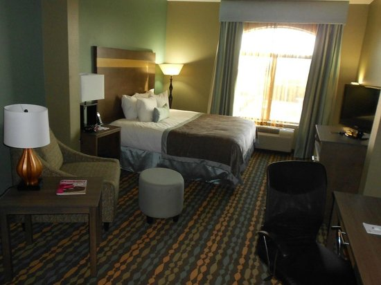 Wingate by Wyndham Bossier City: Sleeping Area of King Room