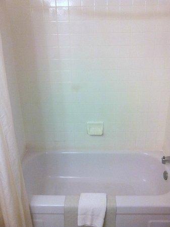 Coast International Inn:                   Shower