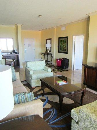 St. Kitts Marriott Resort & The Royal Beach Casino: Living room