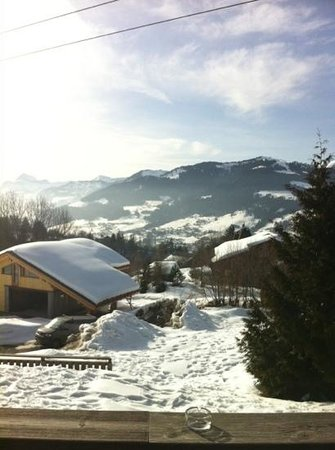 La Ferme du Golf:                   The view from the rooms