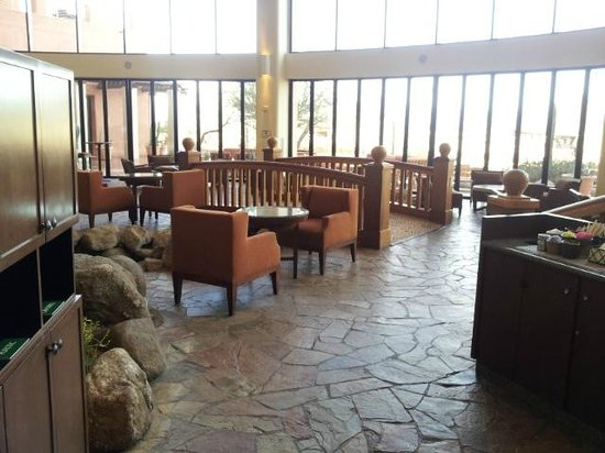 Sheraton Wild Horse Pass Resort & Spa: View from the Cafe
