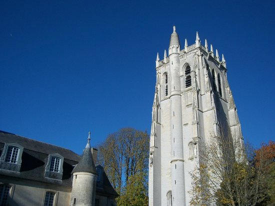 Abbey of Bec-Hellouin: un superbe site .