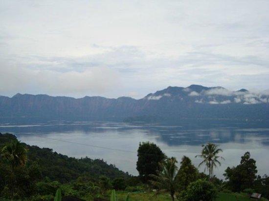 Lake Maninjau: Maninjau Lake from above