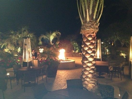 Arnold Palmer's Restaurant:                   fire pit