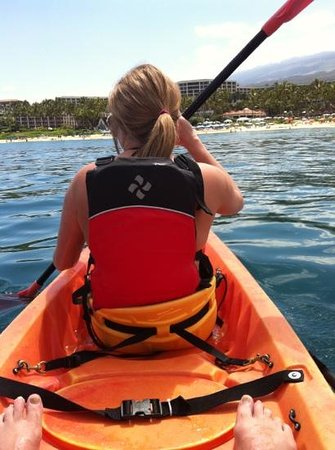 Grand Wailea - A Waldorf Astoria Resort: kayaks and paddle boards available