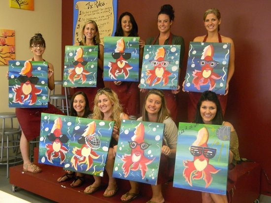 Fish Faces Picture Of Painting With A Twist Orlando Tripadvisor